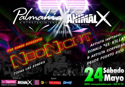 NeoNight Party en Palmahía