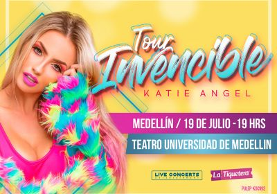 KATIE ANGEL TOUR INVENCIBLE