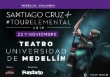 SANTIAGO CRUZ TOUR ELEMENTAL 2019