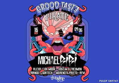 GROOD TASTE PIRATE - MICHAEL BIBI