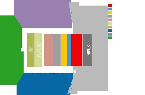 Mapa METROCONCIERTO DE CONCIERTOS